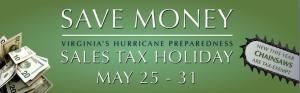Virginia's Tax Free Holiday!