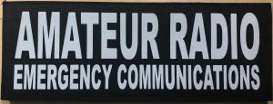Amateur Radio Emergency Service Badge